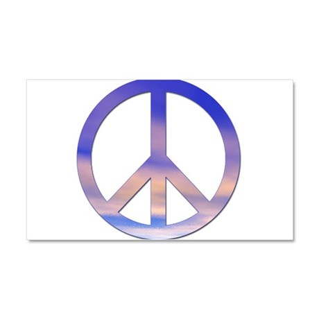 Sunset Peace - Car Magnet 20 x 12