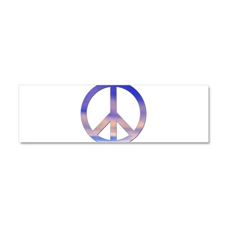 Sunset Peace - Car Magnet 10 x 3