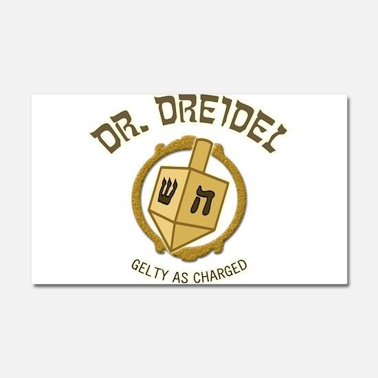 Dr. Dreidel - Car Magnet 20 x 12