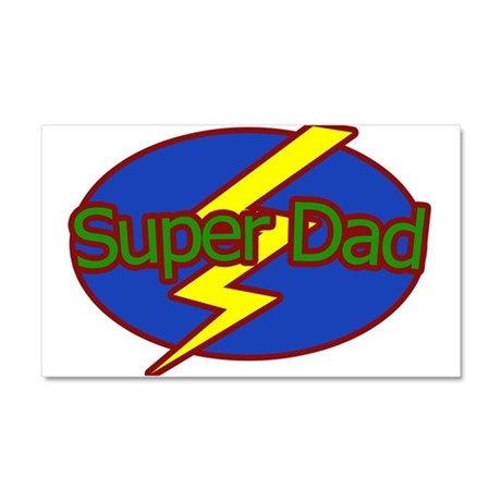 Super Dad - Car Magnet 20 x 12