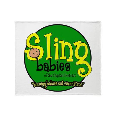 Sling Babies Fan - Throw Blanket