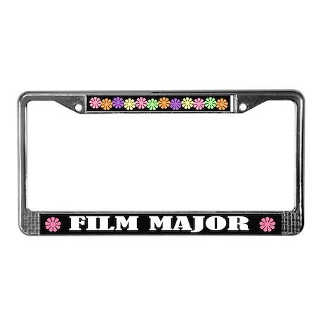 Film Major License Plate Frame