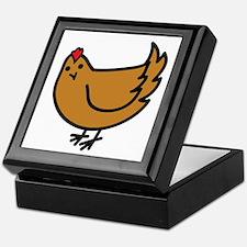 Cute Chicken Keepsake Box