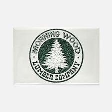 Morning Wood Rectangle Magnet