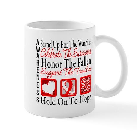 Aplastic Anemia Tribute Shirt Mug