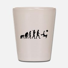 Soccer Evolution Shot Glass