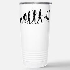 Soccer Evolution Stainless Steel Travel Mug