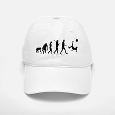 Soccer Evolution Baseball Baseball Cap