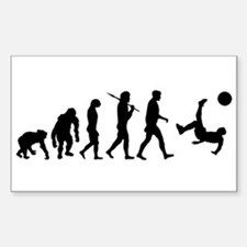 Soccer Evolution Stickers
