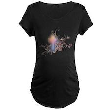 Circles N Swirls Cross T-Shirt