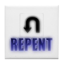 Repents Tile Coaster