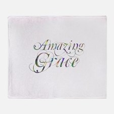 Amazing Grace Throw Blanket