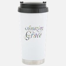 Amazing Grace Stainless Steel Travel Mug