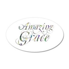 Amazing Grace 22x14 Oval Wall Peel