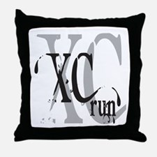 Cross Country XC Throw Pillow