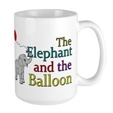 Elephant and the Balloon Mug