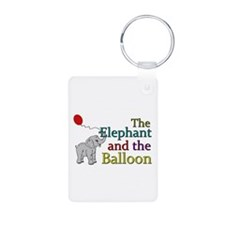 Elephant and the Balloon Keychains