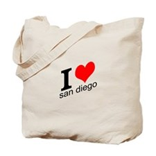 I (heart) San Diego Tote Bag