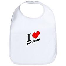 I (heart) San Diego Bib