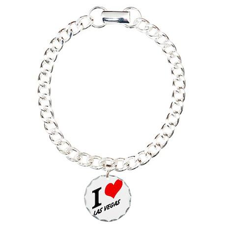 I (heart) Las Vegas Charm Bracelet, One Charm