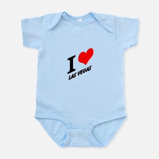 I (heart) Las Vegas Infant Bodysuit