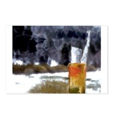 Glass Of Ice Postcards (Package of 8)