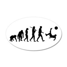 Soccer Evolution Wall Decal