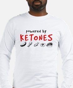 Powered By Ketones Long Sleeve T-Shirt