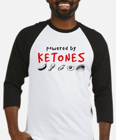 Powered By Ketones Baseball Jersey