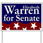 Elizabeth Warren for Senate Yard Sign