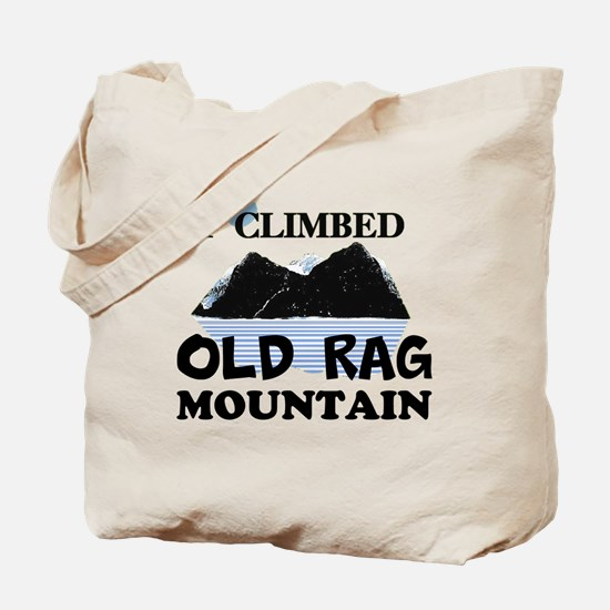 I Climbed Old Rag Mountain Tote Bag