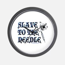 Slave to the Needle Wall Clock