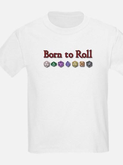 Born to Roll Kids T-Shirt
