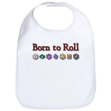 Born to Roll Bib