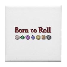 Born to Roll Tile Coaster