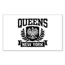 Queens NY Polish Decal