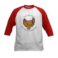 Free Range Chickens Vegan/Vegetarian Tee
