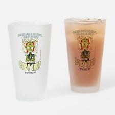 Redneck Zombie Drinking Glass