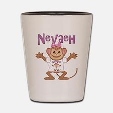 Little Monkey Nevaeh Shot Glass