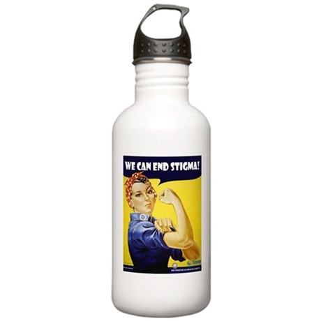 Rosie The Riviter Stainless Water Bottle 1.0L