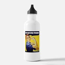 Rosie The Riviter Water Bottle