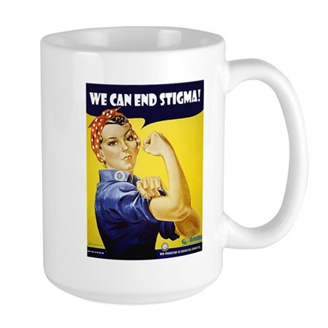Rosie The Riviter Large Mug