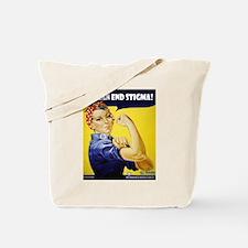 Rosie The Riviter Tote Bag