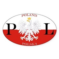 Poland/Polska Bumper Stickers