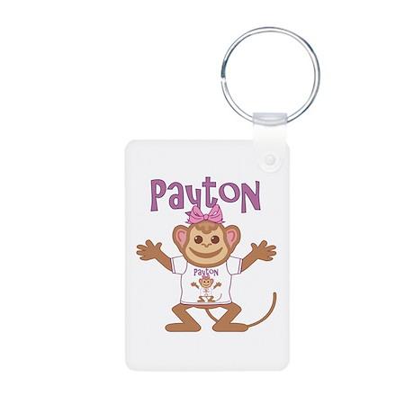 Little Monkey Payton Aluminum Photo Keychain