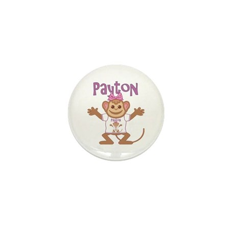 Little Monkey Payton Mini Button