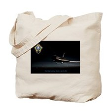 Final Flight Landing Tote Bag
