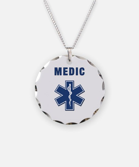 Medic and Paramedic Necklace
