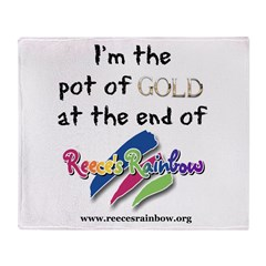 Pot of Gold, for our little t Throw Blanket