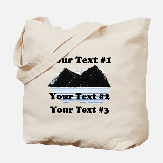 Customize Your Text Tote Bag